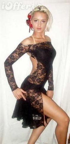 Details about U6455 Elegant Ballroom women Chacha Latin Rumba ...