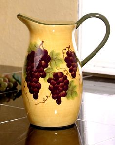 1000 Images About Kitchen Grapes Wine On Pinterest Wine Decor Tuscany And Canister Sets
