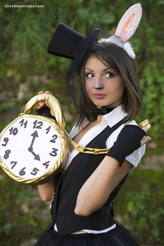 Cute White Rabbit (from Alice in Wonderland) #costume #cosplay