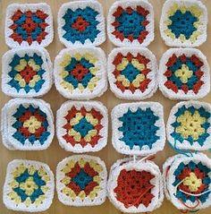 Classic Granny Square Pattern
