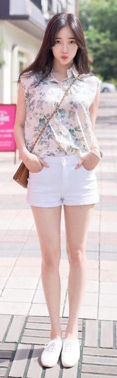 Luxe Asian Korean Women Fashion Mary Beige Blouse