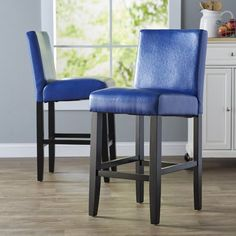 Best Choices Swarthout 26 Bar Stool (Set of By Latitude Run Counter Stools With Backs, Leather Counter Stools, Counter Bar Stools, 24 Bar Stools, Swivel Bar Stools, Bar Furniture, Modern Furniture, Cool Chairs, Bars For Home
