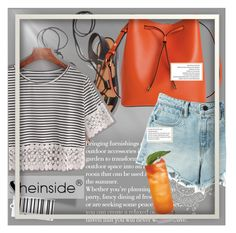 """Orange for the summer"" by the-fashion-kitten ❤ liked on Polyvore featuring Rosetta Getty, Lodis and T By Alexander Wang"