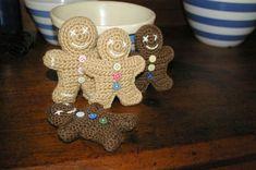Ravelry: Gingerbread Man pattern by Kristen Okeeffe
