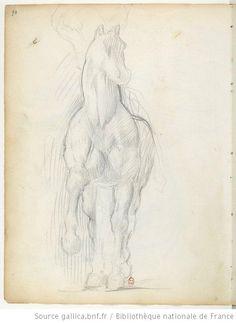 Carnet 1 : [carnet de dessins] / Edgar Degas - 106