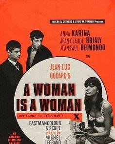 Jean-Luc Godard #2  A Woman is A Woman (Une femme est une femme) - 1961  DP: Raoul Coutard  #Jeanlucgodard #Raoulcoutard #film #cinema #cinematography #awomanisawoman  #Unefemmeestunefemme #france #annakarina #Jeanpaulbelmondo #Jeanclaudebrialy