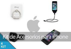 Equipa tu iPhone con este imprescindible kit de accesorios