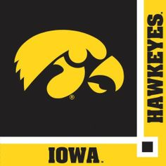 """Creative Converting Iowa Hawkeyes Beverage Napkins (20 Count) by Creative Converting. $5.99. Collegiate NCAA team logo beverage napkins. The perfect supplies for your tailgating, Bowl game or sports themed party - show your team spirit and pride. 20 count. Measures 5 x 5"""". See Creative Converting's coordinating line of party favors and dinnerware - inflatable fingers, wrist bands, head bands, pom poms, cheer sticks, cups, plates, napkins, chip trays and décor. From t..."""