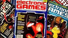 Launched Electronic Games, the first dedicated video games magazine, in 1981