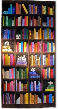 Fabric At Work Bookcase Quilt Pattern