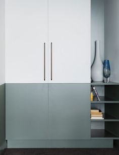 Architect Dom Glamuzina learnt about working with family when he updated an apartment in the glamorous building, 'The Pines', for his father. Apartment Plans, One Bedroom Apartment, Granite Benchtop, 13th Floor, Concrete Sculpture, House Viewing, Elegant Kitchens, Splashback, House And Home Magazine