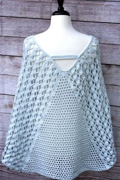 Whimsical Waves Poncho a free crochet pattern!