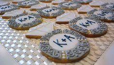Engagement Ring Sugar Cookies Sweet17Cookies.Etsy.com