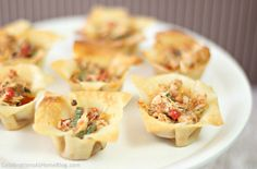 Spicy Chicken Cups -- Perfect this appetizer with a few splashes of Trappey's - trappeys.com #chicken #appetizer #spicy