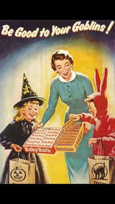 Love these vintage candy ads!