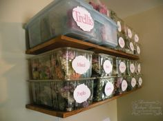 RECYCLED storage!!! Lettuce/produce containers!!!
