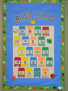 Clutter-Free Classroom: Bug Themed Classroom