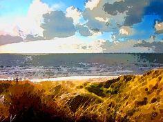 'Herbstdünen' von Dirk h. Wendt bei artflakes.com als Poster oder Kunstdruck $18.03