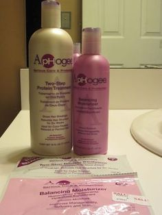 ApHogee & Me: My 1st Two-Step Protein Treatment
