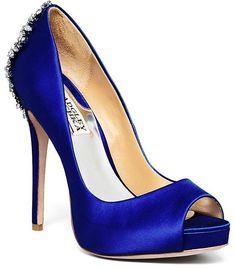 Badgley Mischka Peep Toe Platform Evening Pumps - Kiara High Heel Pompe  Tacco Alto df3981cef9e