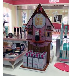 cosmetic counter display - Google Search