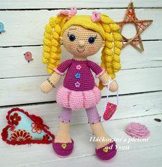 PATTERN  Doll Viky  crochet pattern amigurumi pattern PDF