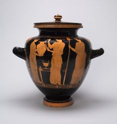 Greek, Athens Attributed to the Chicago Painter, Stamnos (Mixing Jar)