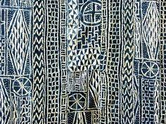 Bamileke Ndop Cloth 1, Cameroon