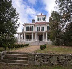 Historic Preservation Approach Characterizes 19th Century Italianate House Restoration at Georgia's Hardman Farm : Lord Aeck Sargent