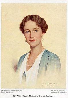 Großherzogin Charlotte von Luxemburg, Grand Duchess of Luxemburg 1896-1985 | Flickr - Photo Sharing!
