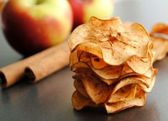 Healthy Spiced Apple Chips/dcc