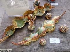 Opishnya. Pottery, How To Make, Painting, Decor, Ceramica, Decoration, Painting Art, Paintings, Pots