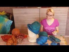 «Ручная работа». Берет в технике валяния (12.11.2015) - YouTube
