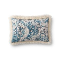 Multi & Ivory Pillow – BURKE DECOR