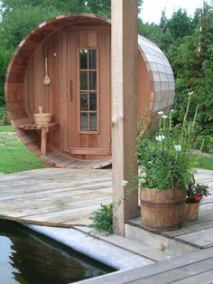 Popular If only I had the room a round sauna cabin