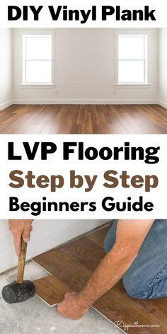 Vinal Plank Flooring, Installing Vinyl Plank Flooring, Easy Flooring, Flooring On Walls, Vinyl Wood Flooring, Flooring Options, Flooring Ideas, Floors, Diy Home Repair