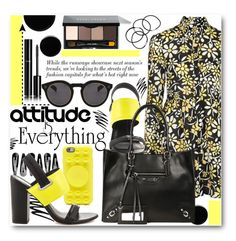 """""""Art Inspired Fashion"""" by stylemoi-offical ❤ liked on Polyvore featuring Deborah Lippmann, Chanel, Prescriptives, Marc by Marc Jacobs, Circus By Sam Edelman, Illesteva, Bobbi Brown Cosmetics, H&M and longsleevedress"""