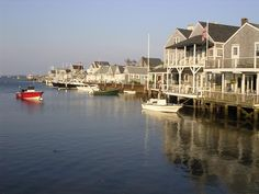 Nantucket Island. Fun ferry ride from Cape Cod.  Can't get enough of this place.  Love Brandt Lighthouse. Wonderful shopping. Beautiful homes. Rent a moped.