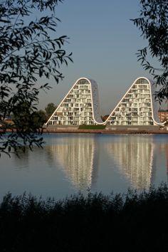 The Wave in Vejle   Henning Larsen Architects
