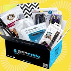 Gizmo Crate Monthly Subscription Box