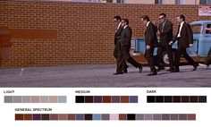 Color Palettes From 36 Of Your Favorite Movies – The Roosevelts
