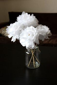 DIY Bouquet de fleurs en papier - Bonjour Darling