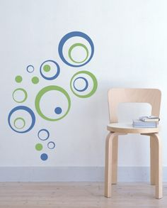 Bubbly Circles Vinyl Wall Decal