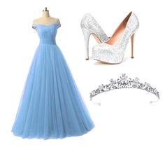 """""""Cinderella"""" by summerprincess05 ❤ liked on Polyvore featuring beauty"""