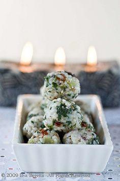 Mediterranean Rice Balls.