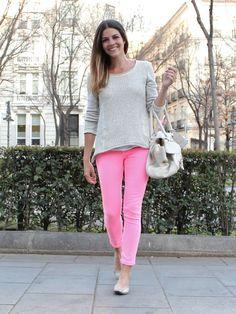 pink + neutral
