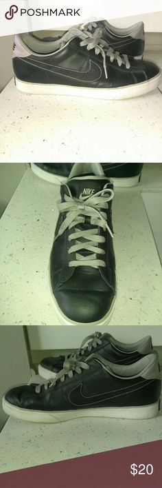 Nike Mens Shoes size 12 Excellent condition. Very well taken care of. Men's Nike size 12. Gray laces. Nike Shoes Athletic Shoes