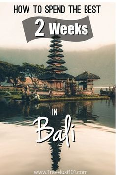 Where to go in Bali? The ultimate itinerary guide - Beste Reisetipps 2019 Bali Travel Guide, Asia Travel, Solo Travel, Travel Guides, Travel Tips, Travel Destinations, Travel Hacks, Travel Plane, Travel Checklist