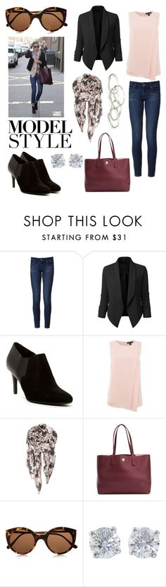 """Off Duty Miranda Kerr Style #2"" by inksty ❤ liked on Polyvore featuring Kerr®…"
