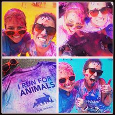 Why do YOU run? We run for animals!